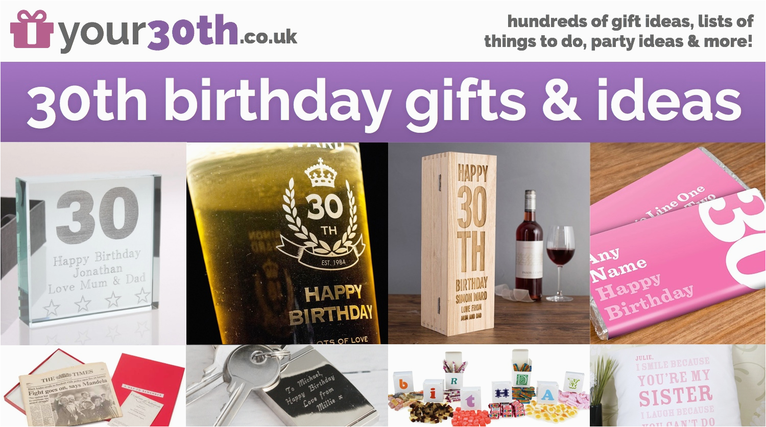 Birthday Gifts For Her Nz 15 30th Anniversary Gift Ideas Best 25