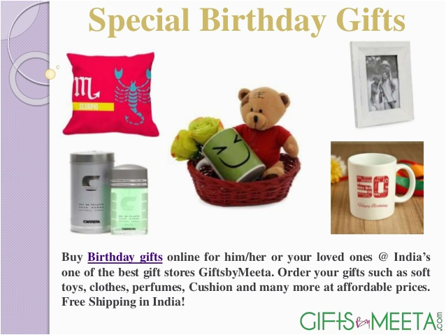 Birthday Gifts For Her Online India Special Him