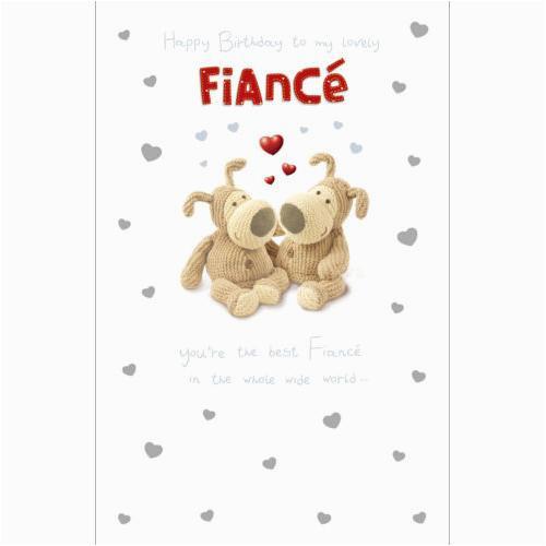 boofle fiance birthday card
