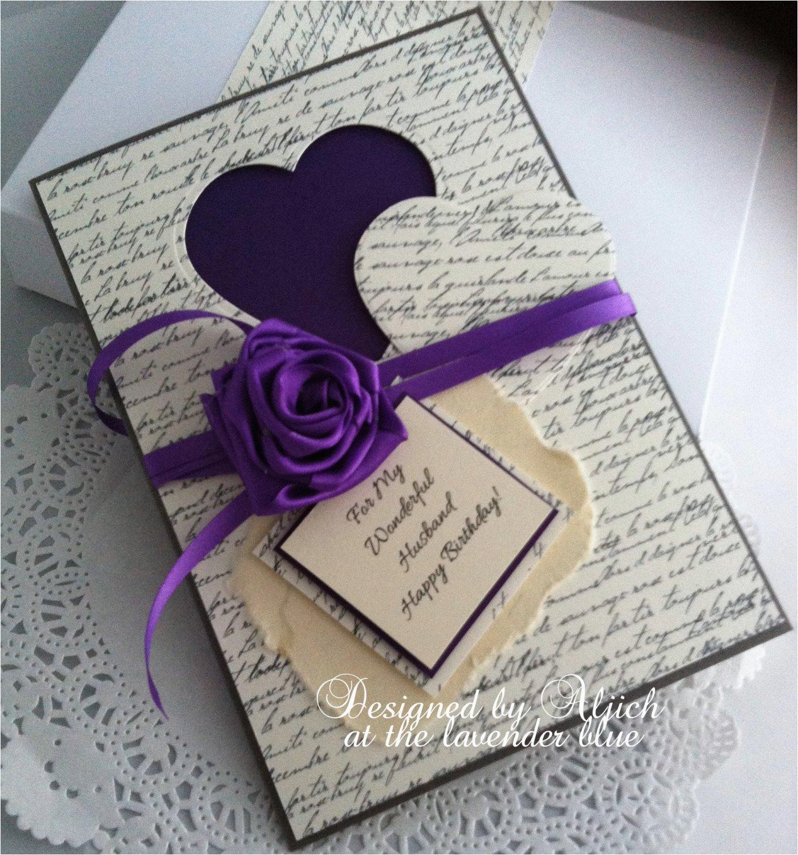 husband fiance birthday card handmade