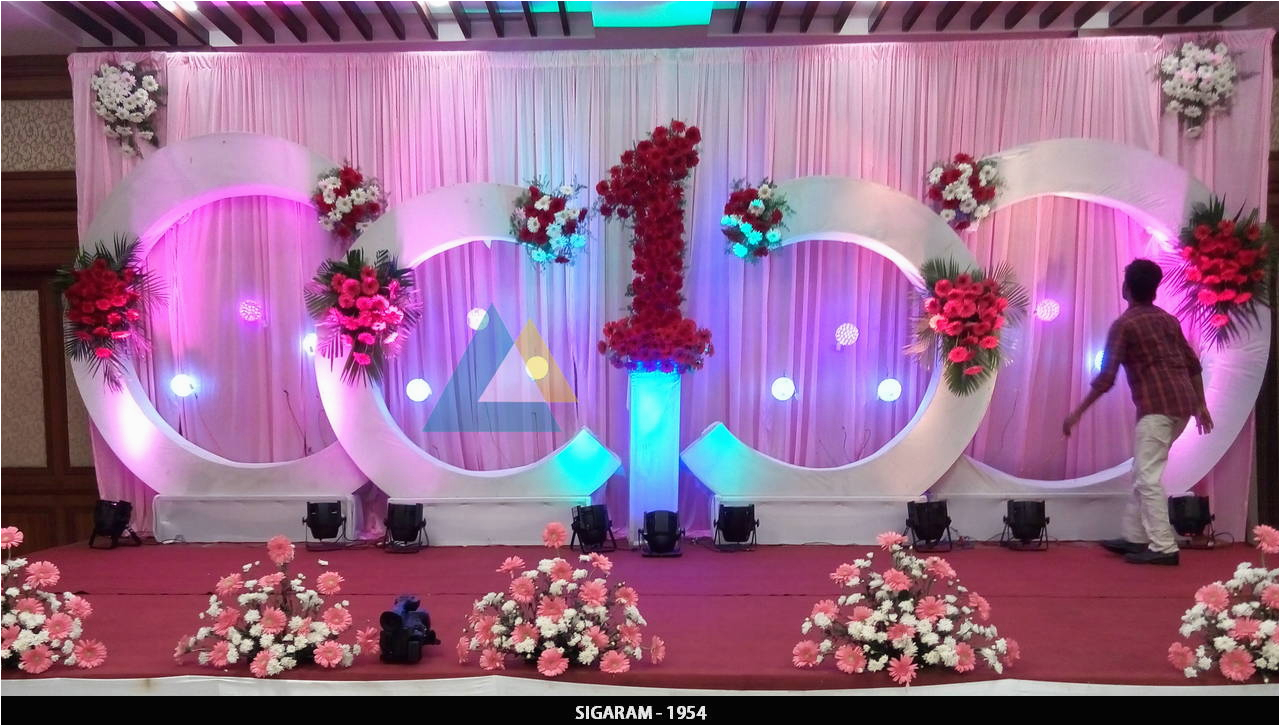 birthday party decoration at shenbaga hotel and convention centre pondicherry