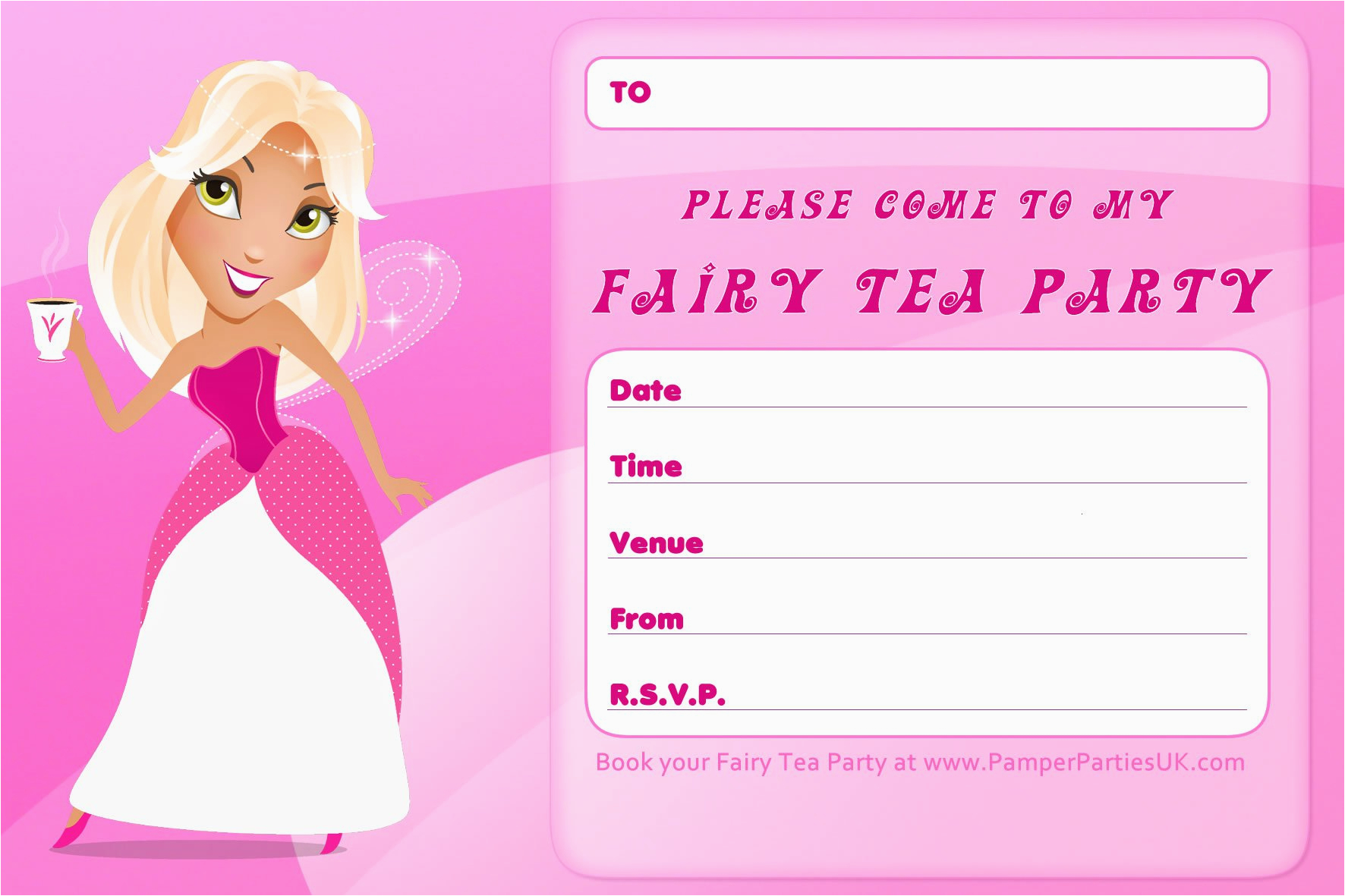 Birthday Invitation Card Maker Free