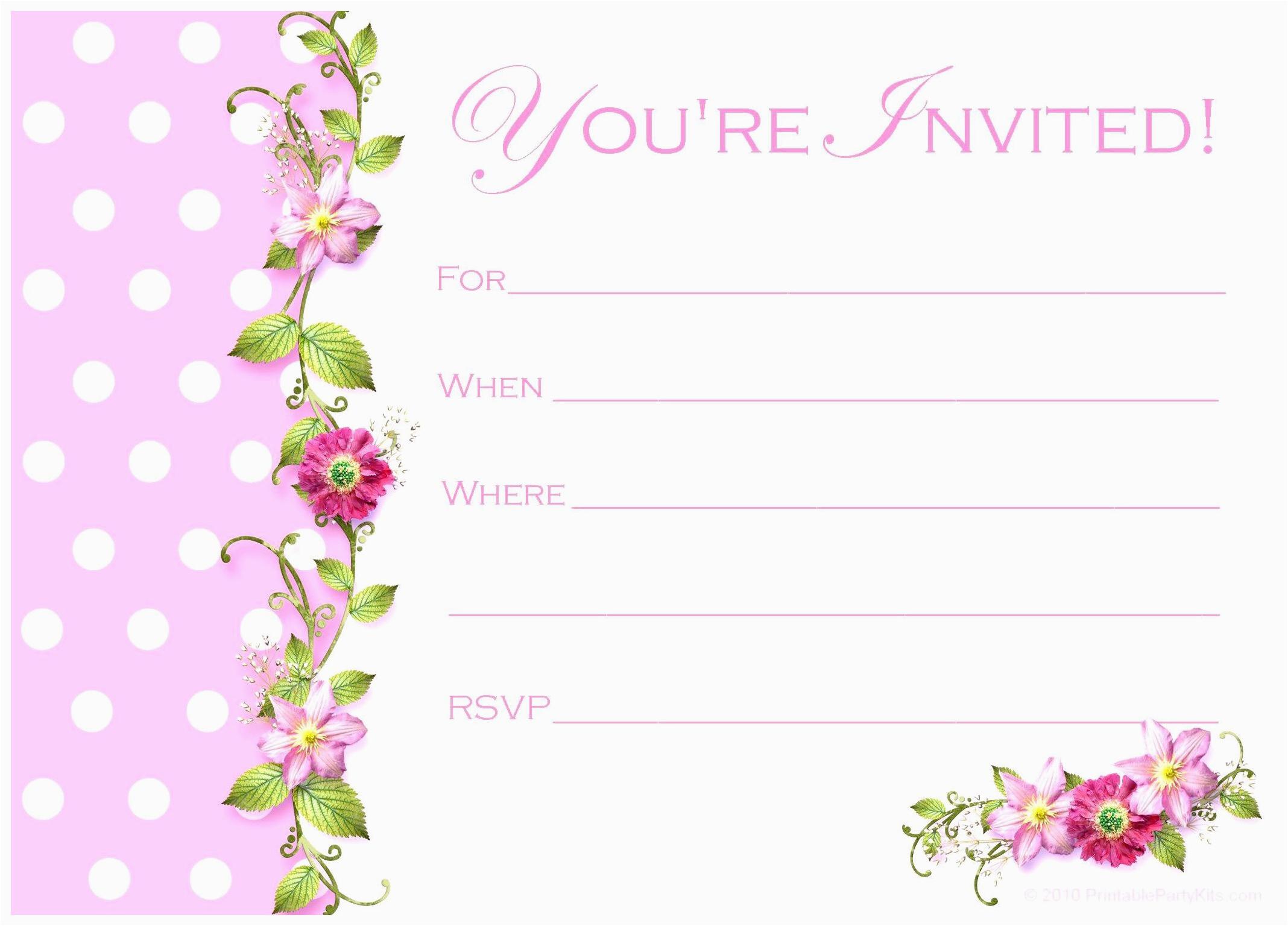 Birthday Invitation Card Sample Layout Mughals