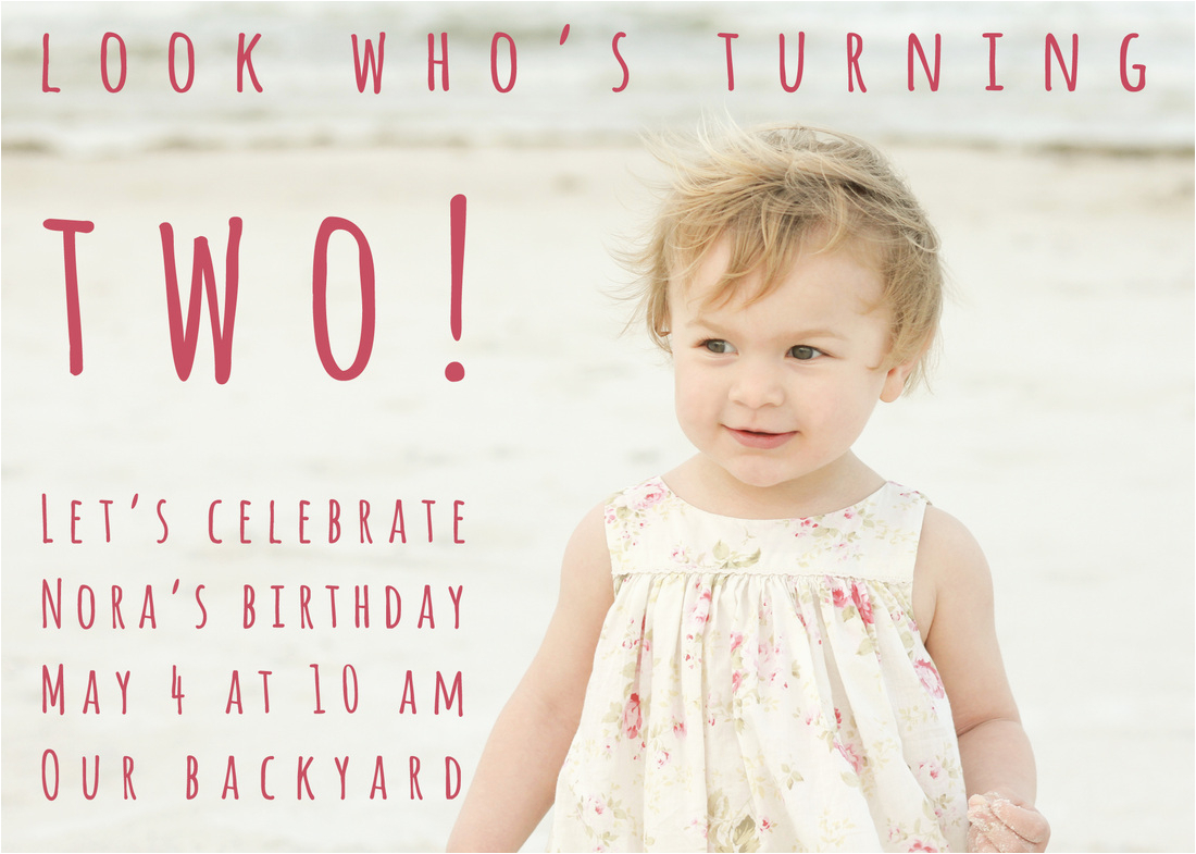 Birthday Invitation for 2 Year Girl 2 Year Old Birthday Party Invitation Wording Dolanpedia