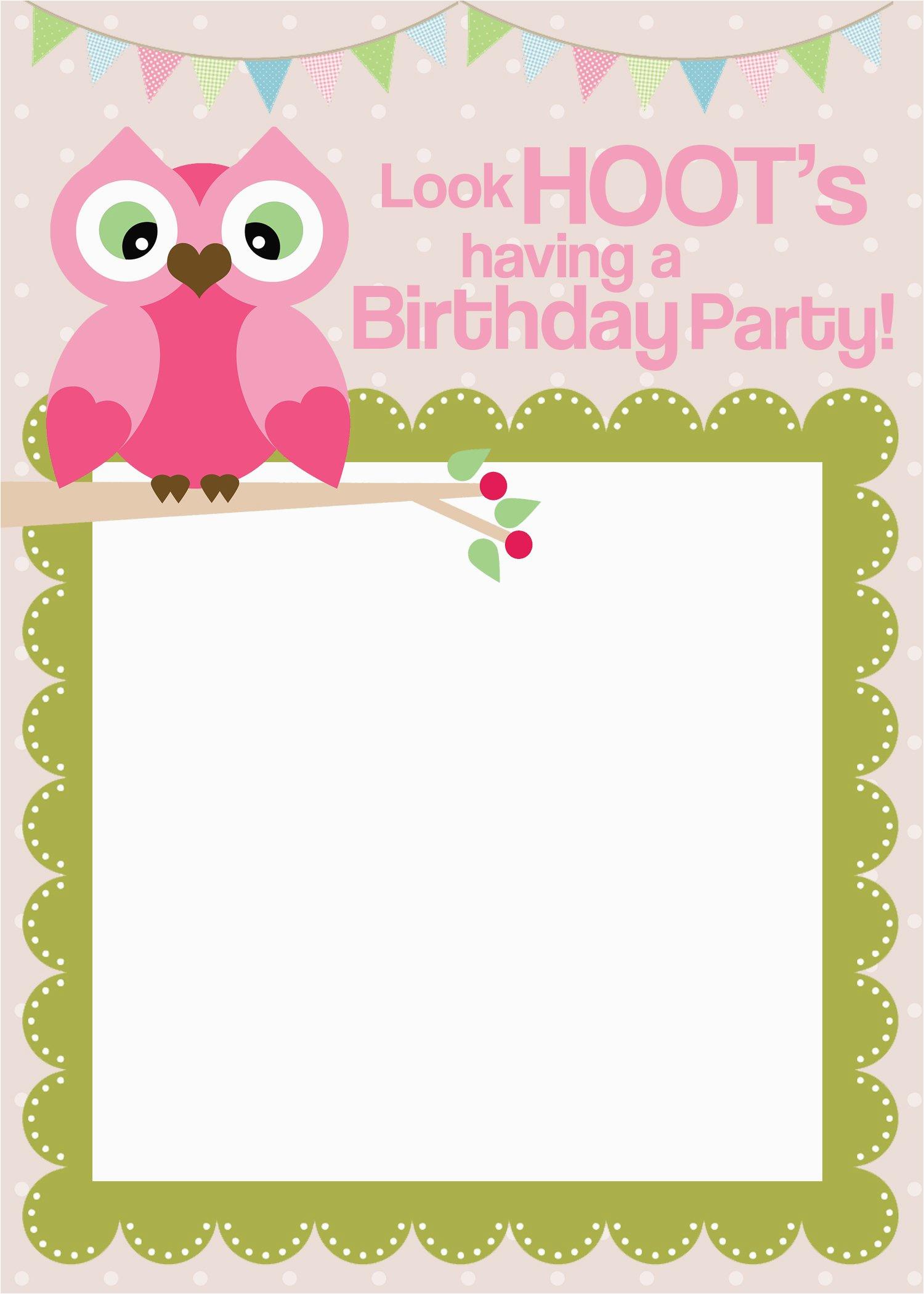 birthday invitations free online maker
