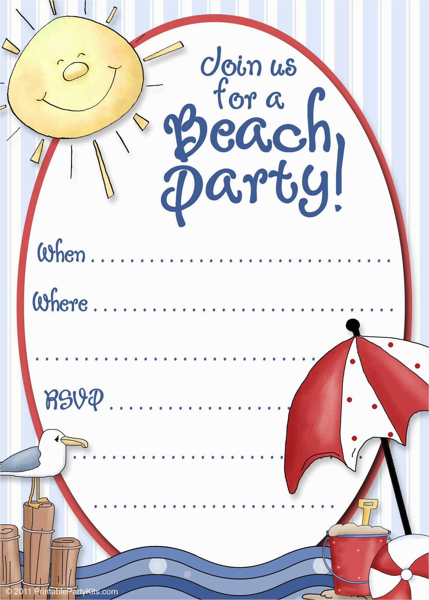 Birthday Invitation Maker Online Free Party Invitation Maker Party Invitations Templates