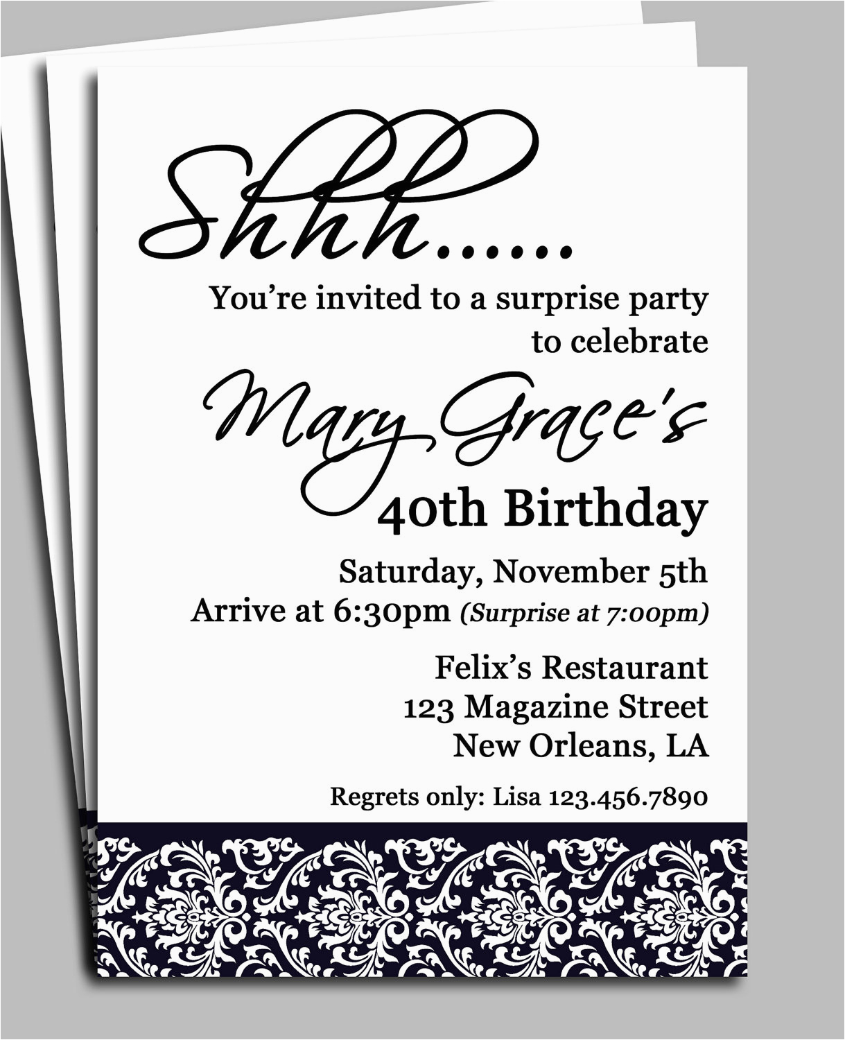 Birthday Invitation Message For Adults Create Own Adult Invitations Egreeting Ecards