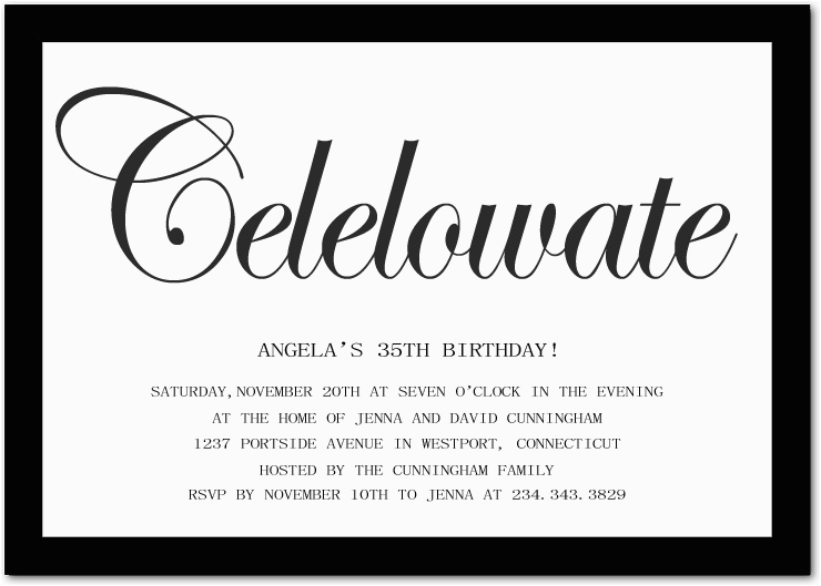Birthday Invitation Messages for Adults 10 Birthday Invite Wording Decision Free Wording