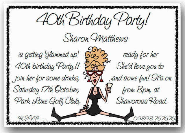Birthday Invitation Messages For Adults Funny Party Wording Dolanpedia