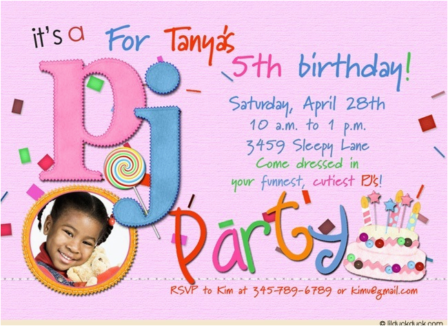 Birthday Invitation Quotes For 5th Party Wording Eysachsephoto Com