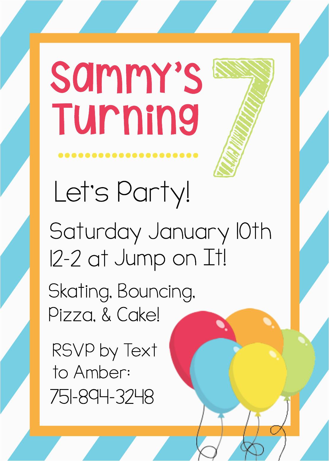 Birthday Invitation Templates Free Word Free Printable Birthday