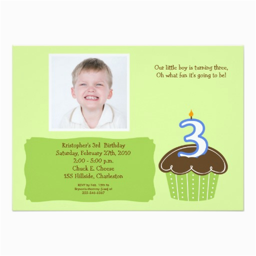 Birthday Invitation Wording For 5 Year Old Boy 3 Years Invitations Drevio