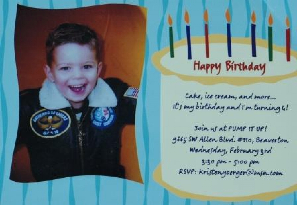 Birthday Invitation Wording For 5 Year Old Boy 5th Party Cimvitation