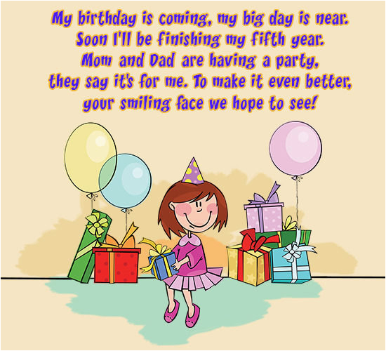 ways to formulate catchy birthday invitation wordings for kids