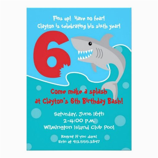 Birthday Invitation Wording For 6 Year Old 28 Best Images About 6th Party Invitations On