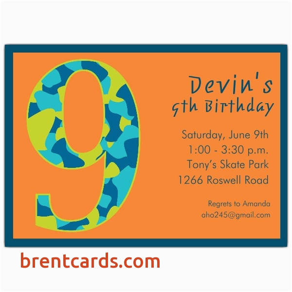 Birthday Invitation Wording For 7 Year Old Boy Cards Awesome