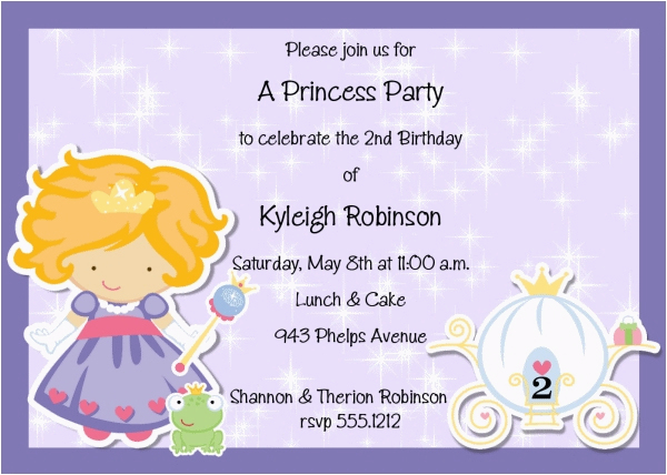 Birthday Invitation Wording Samples For Kids 21 That We Can Make