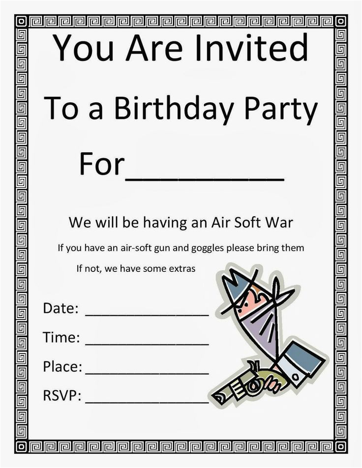 Birthday Invitations For 8 Yr Old Girl 1000 Images About Party Ideas On Pinterest
