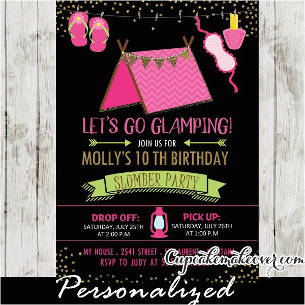 Birthday Invitations For 8 Yr Old Girl 25 Best Ideas About Slumber Party On