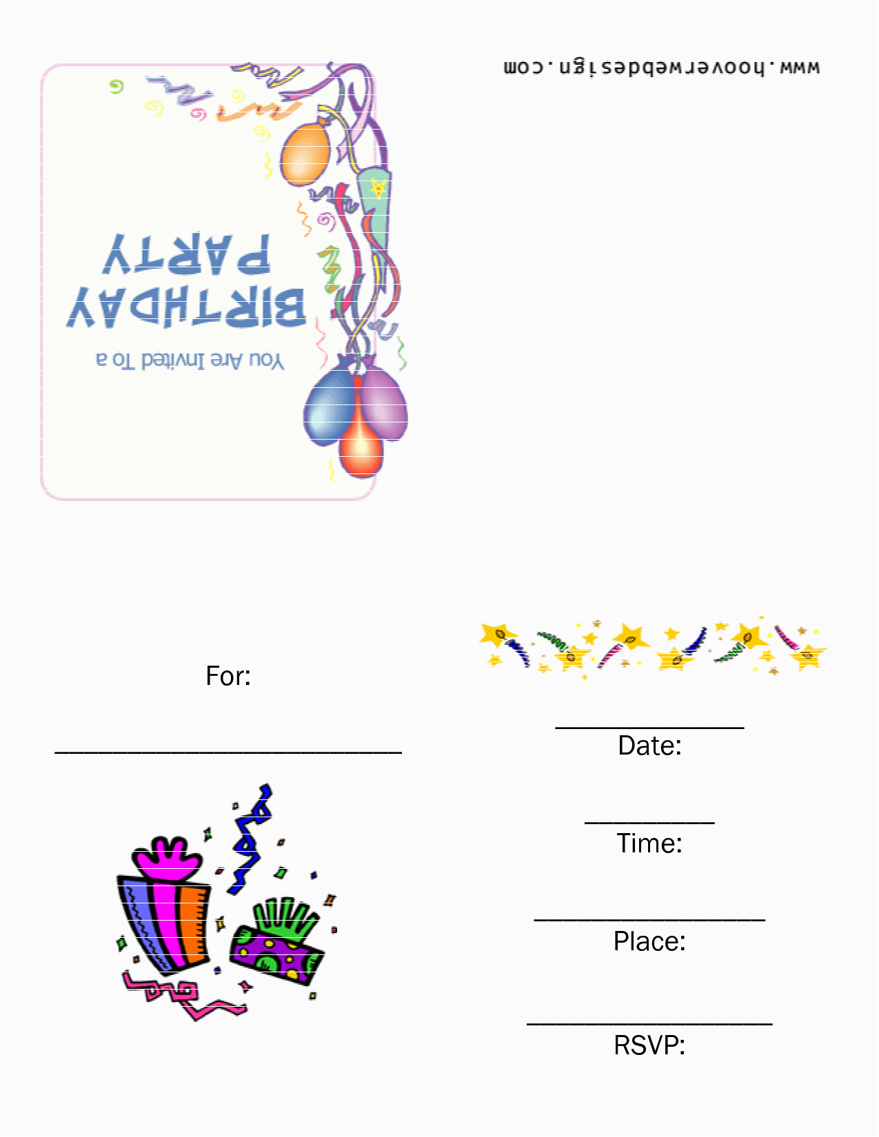 Birthday Invitations Online Free Printables Templates Best Template Collection