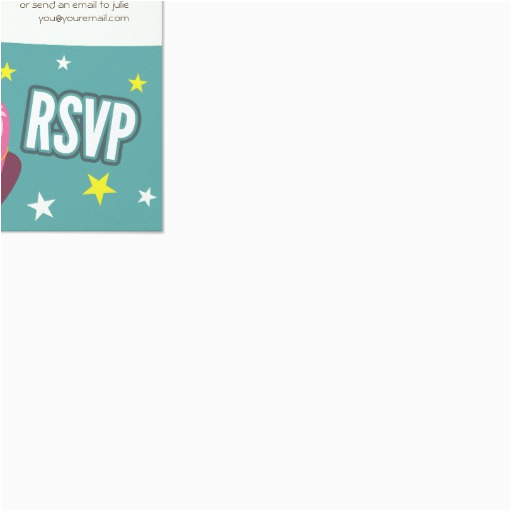 Birthday Invitations With Rsvp Cards Claudette The Owl Kids Party 3 5 Quot X