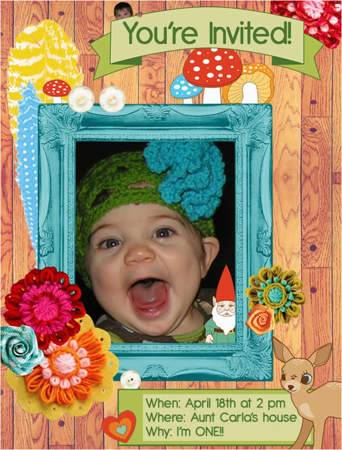 Birthday Invite For 2 Year Old Party Invitations Ideas New