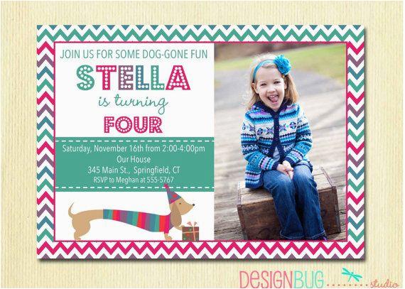 4 years old birthday invitations wording