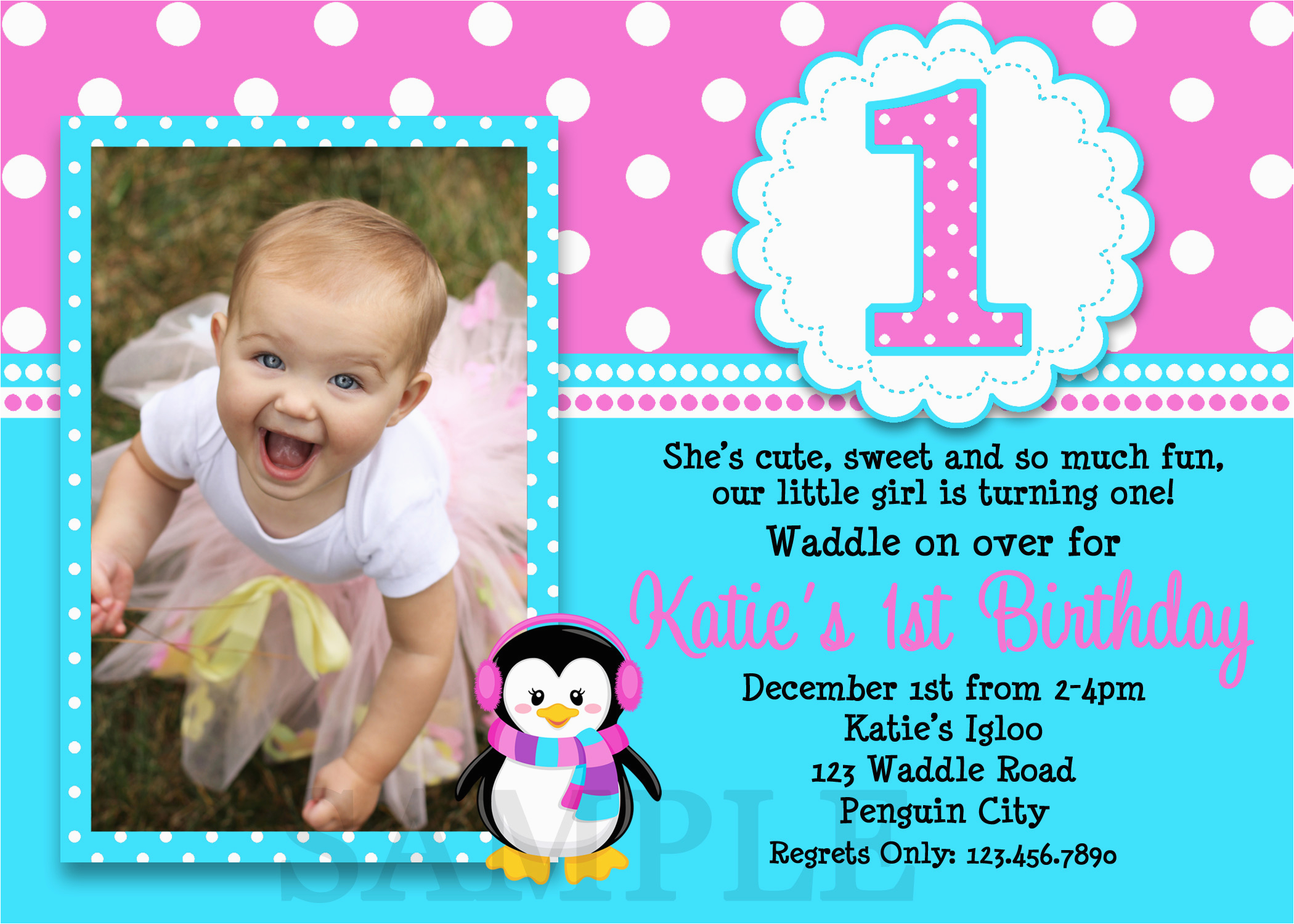 Birthday Invite Wording For 7 Year Old Invitation 1