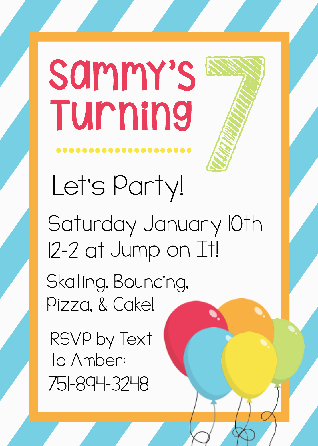 Birthday Invites Free Printable Invitation Templates