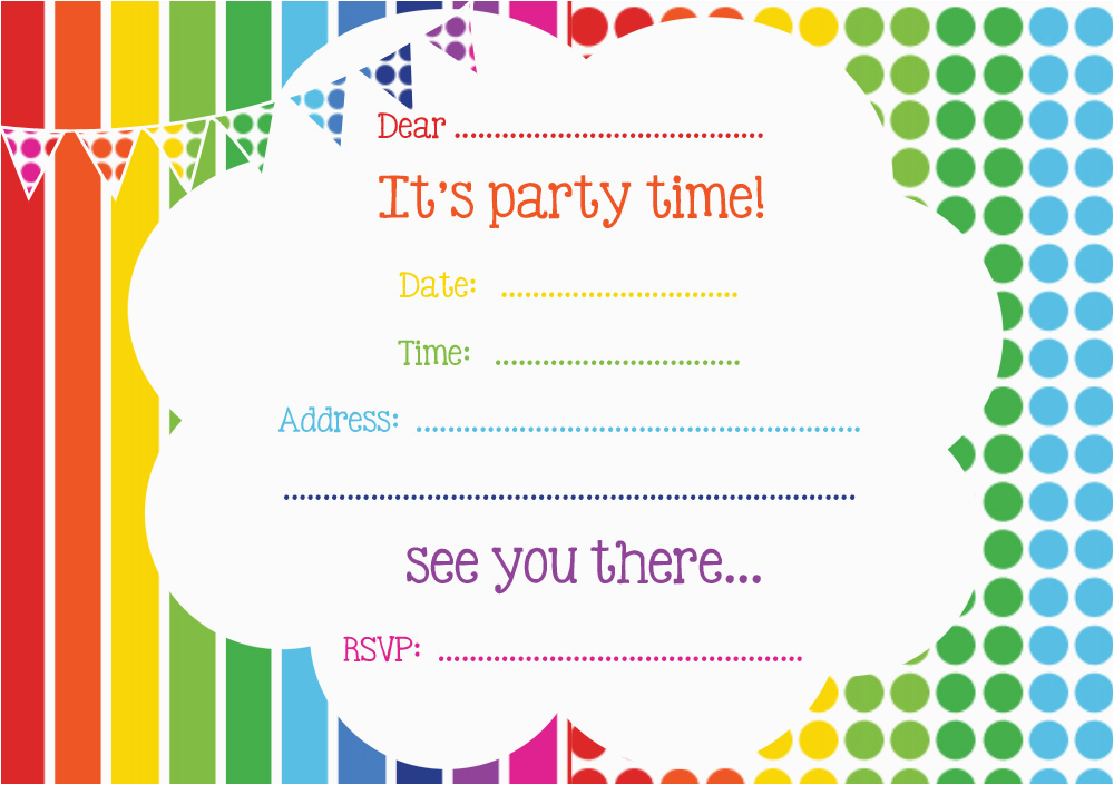 Birthday Invites Templates Free Online Free Printable Birthday Invitations Online Bagvania Free