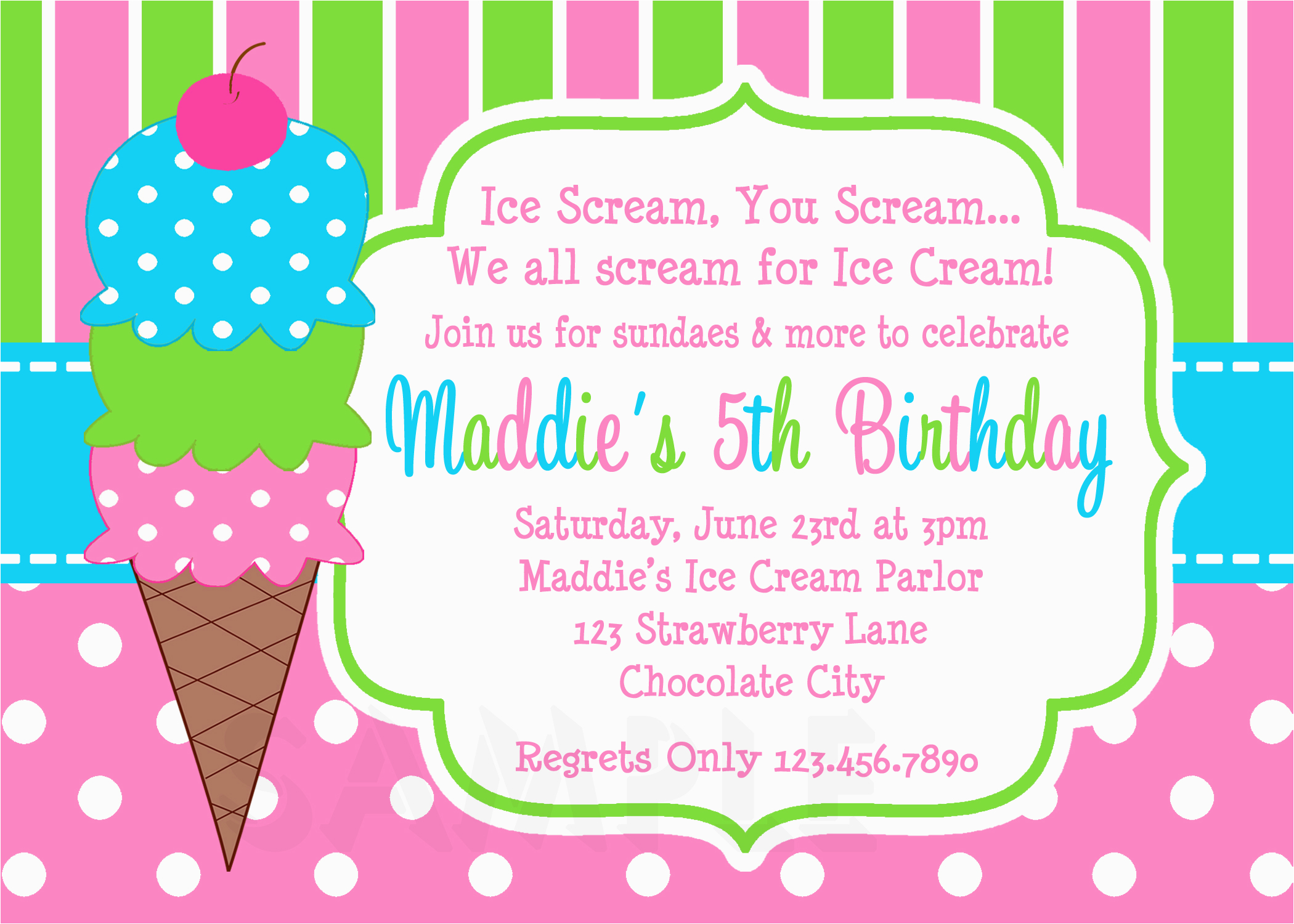 Nud birthday party invitation ideas girl free master thumbs