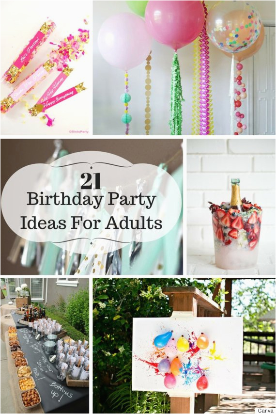 Birthday Party Decor For Adults 21 Ideas Adult Parties