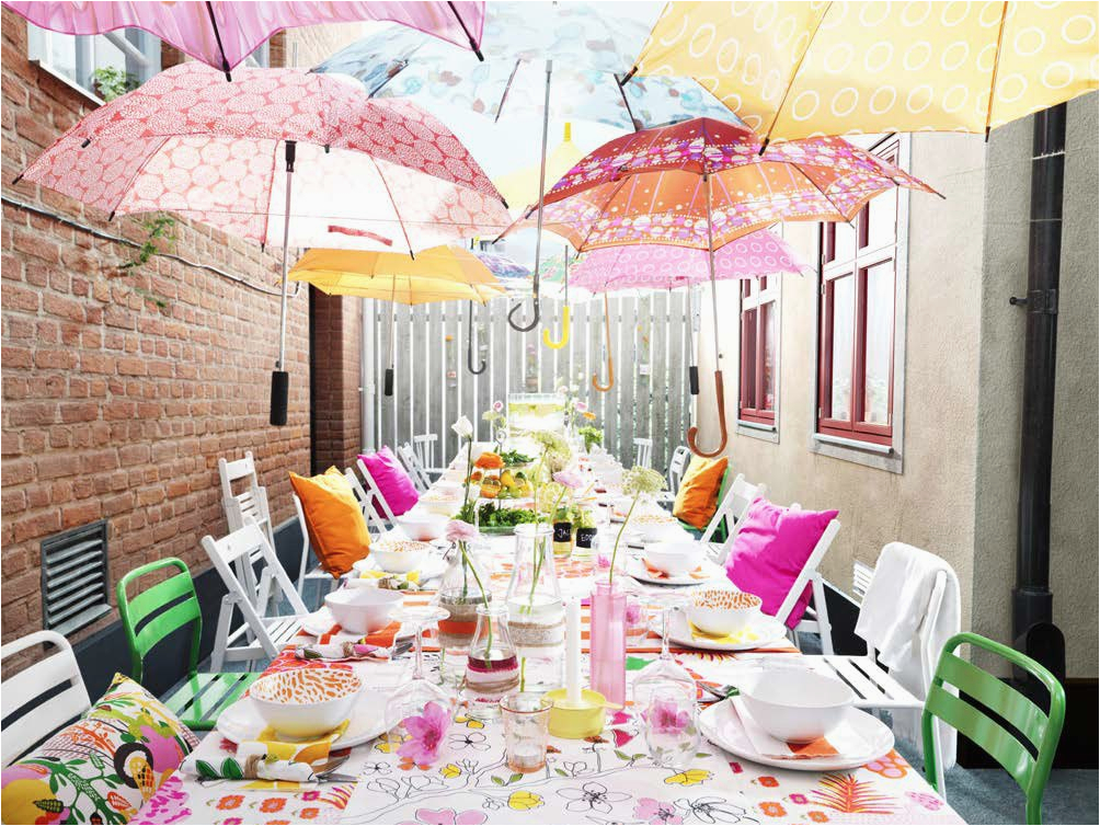 Birthday Party Decorating Ideas On A Budget 10 Ideas for Outdoor Parties From Ikea Skimbaco