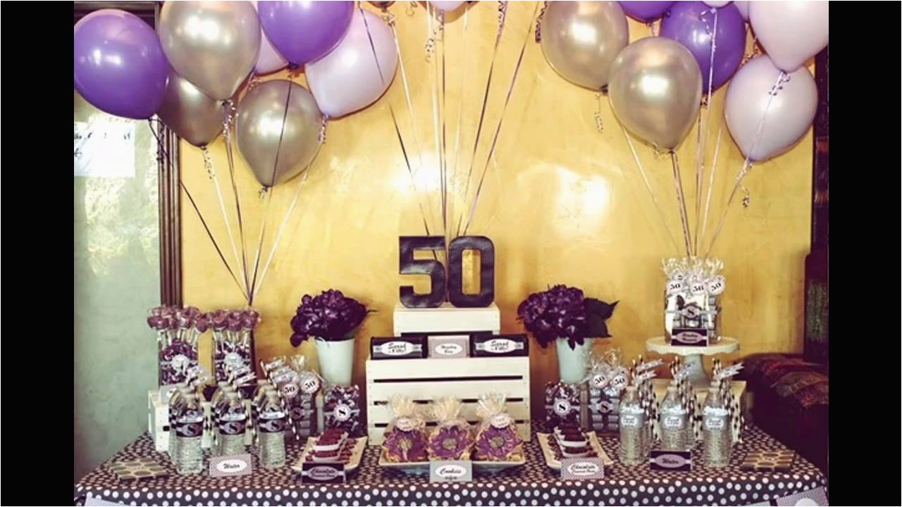 50th birthday party ideas on a budget