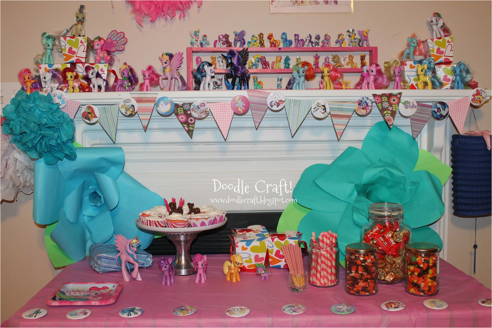 my little pony budget party and