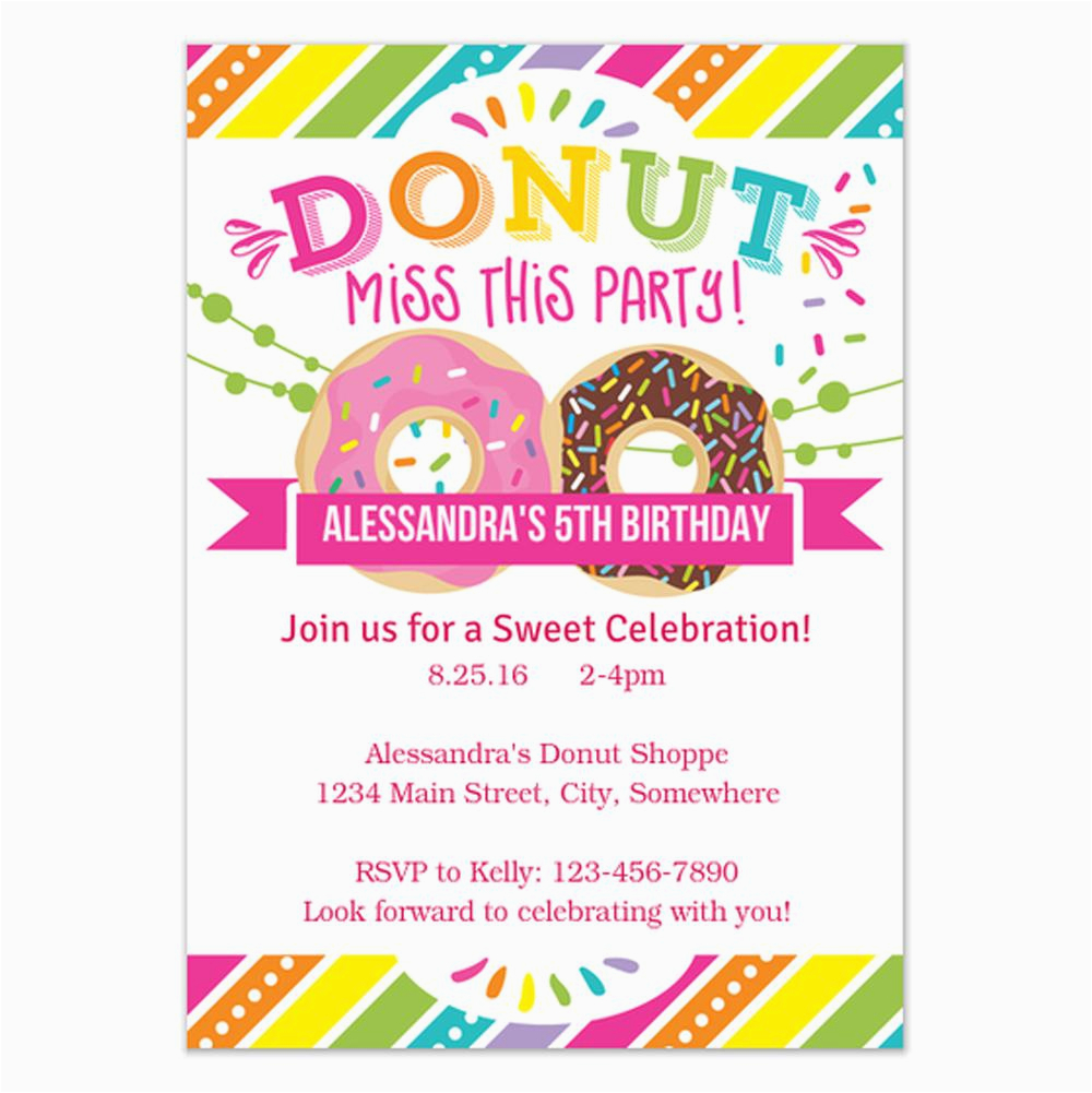 Birthday Party Invitation Templates Free 18 Invitations For Kids Sample