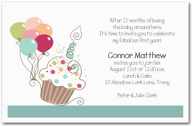 first birthday invitation wording bagvania free