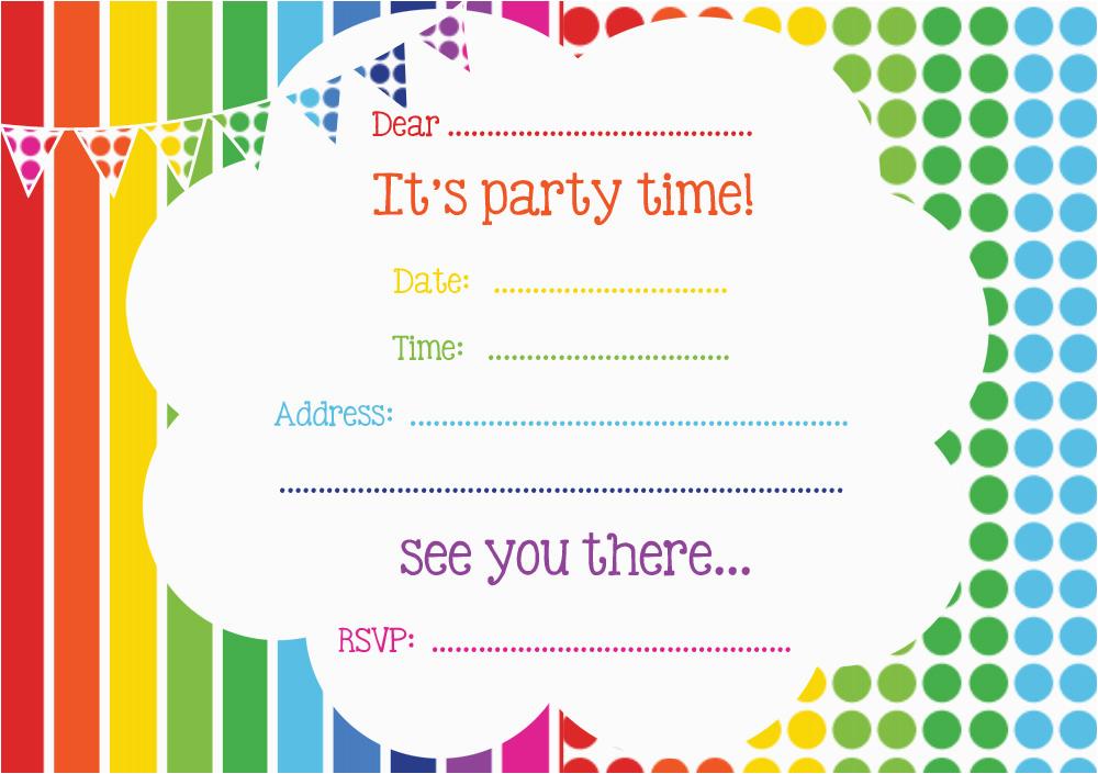 free printable birthday invitations online bagvania free