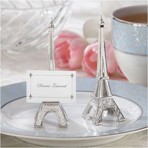 mini eiffel tower place card holders