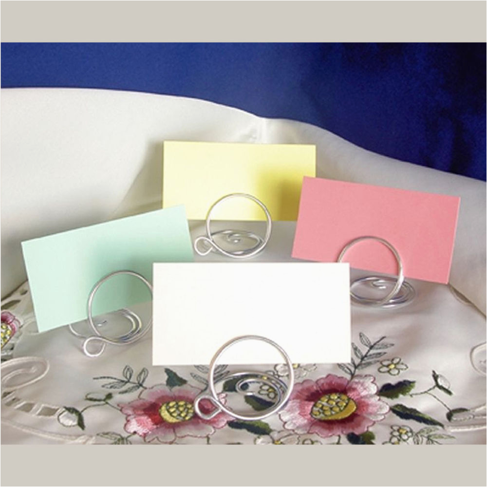 Birthday Place Card Holders Wedding Table Place Setting Name Cards for Holders