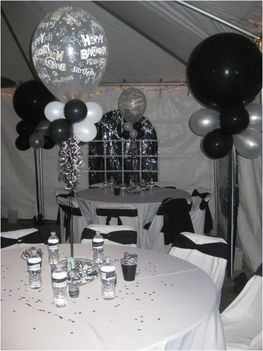 Black And Silver 40th Birthday Decorations 18 Best Daddy 39 S 80th Party Images On