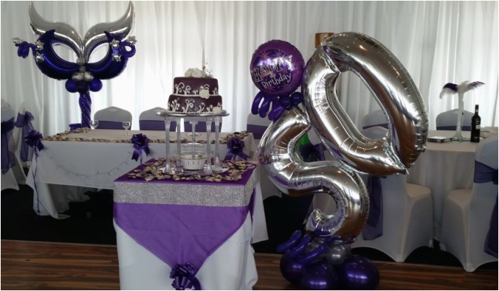 Black And Silver 50th Birthday Decorations