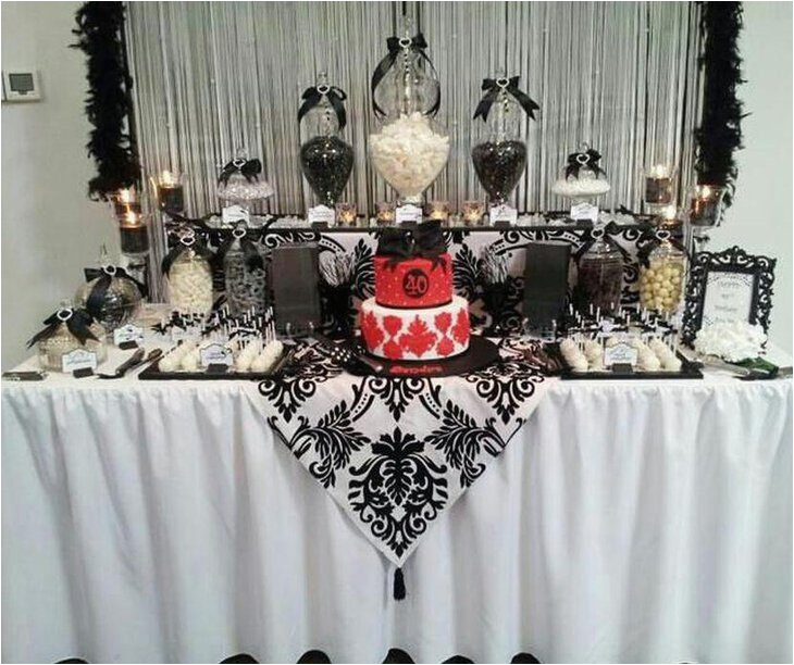 birthday table decorations ideas for adults