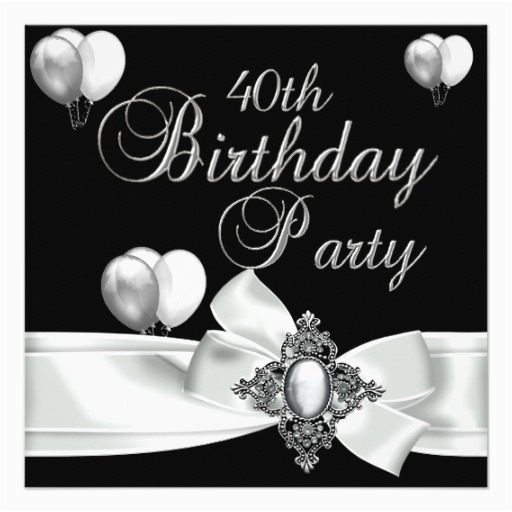 Black And White 50th Birthday Decorations 40th Party Silver Balloons 5 25x