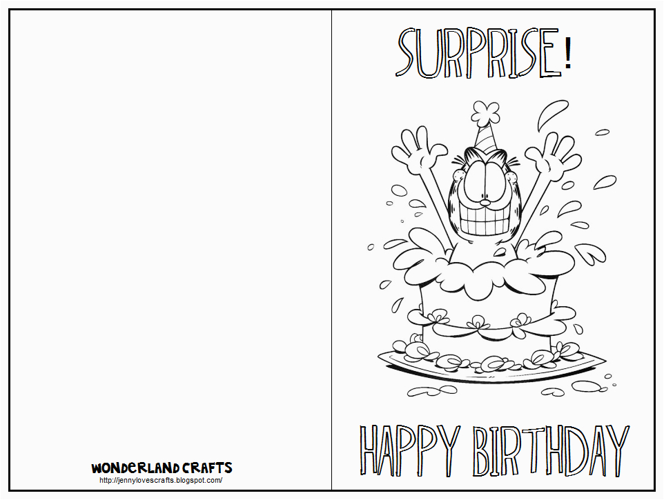 post black and white printable birthday cards 90156
