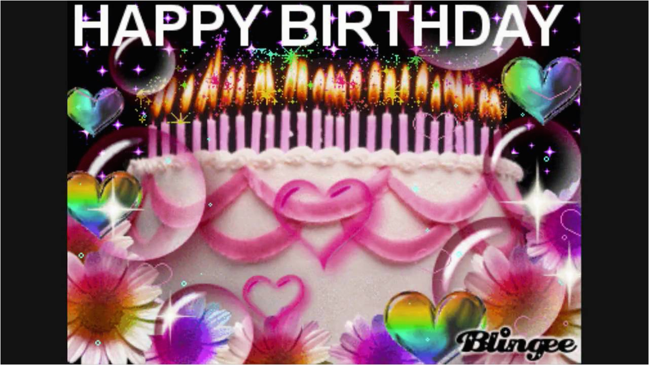 Blingee Birthday Cards Happy Birthday to You Music Box Blingee Youtube