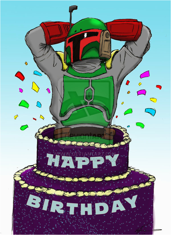 boba fett happy birthday www imgkid com the image kid