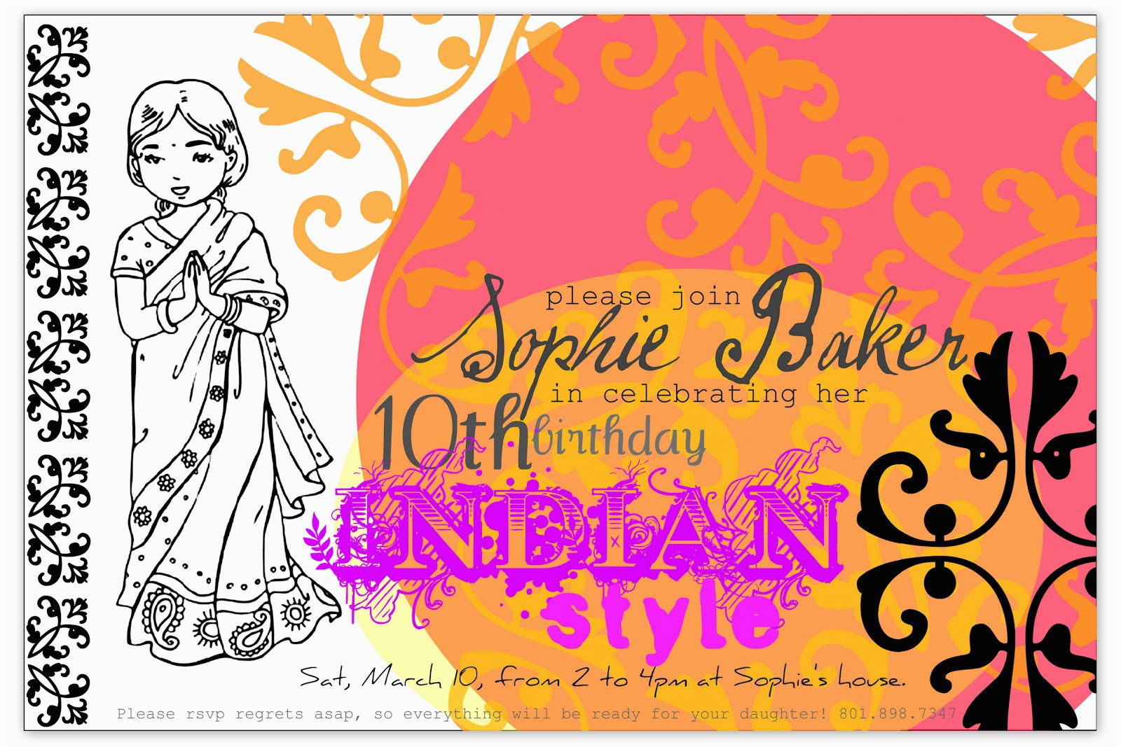 restlessrisa indian bollywood party part 1 invitations