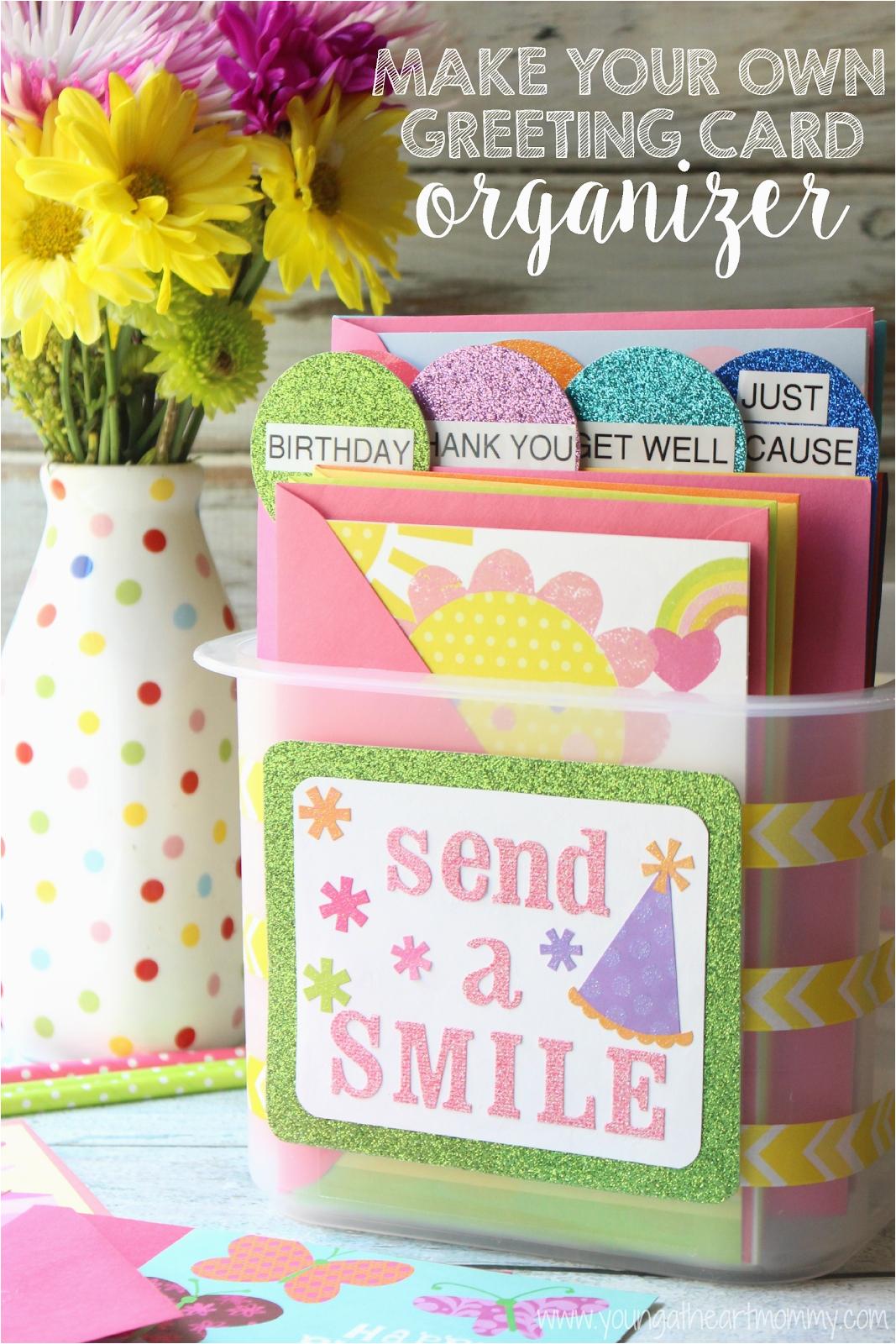 greeting card storage boxes hallmark