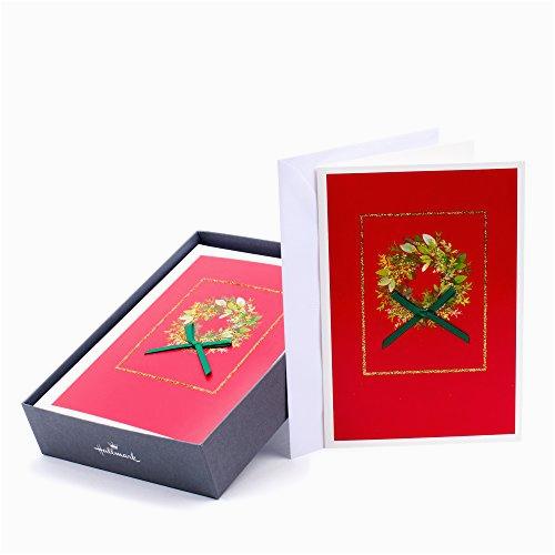 hallmark holiday boxed cards christmas wreath 16